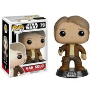 Funko Pop Star Wars Force Awakens Han Solo Figure