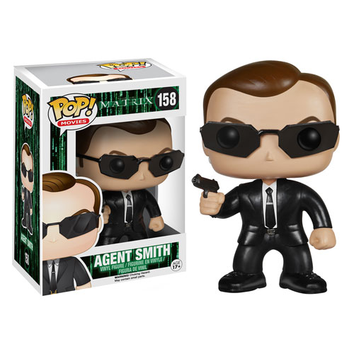 Funko Pop Superstore Toys Comics Collectibles: Funko Pop Vinyl The Matrix Agent Smith Figure