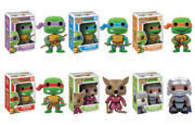 Funko Pop Vinyl Teenage Mutant Ninja Turtles Leonardo Raphael Donatello Michelangelo Splinter Shredder