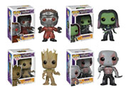 Funko Pop Vinyl Guardians of the Galaxy Starlord Gamora Groot Drax Figure