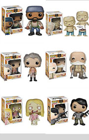Funko Pop Vinyl Figure Walking Dead The Governor Prison Yard Rick Prison Guard Zombie Merle Dixon