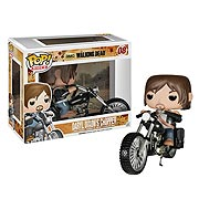 Funko Pop Vinyl Walking Dead Daryl Dixon with Bike Figure