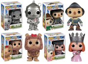 Funko Pop Wizard of Oz Scarecrow Tin Man Cowardly Lion Glinda Figure