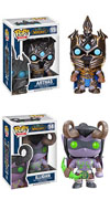 Funko Pop World of Warcraft Arthas Illidan Figure