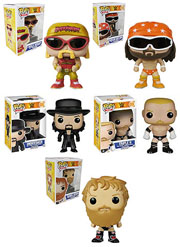 Funko Pop WWE Hulk Hogan Macho Man Randy Savage The Undertaker Triple H Daniel Bryan Figure