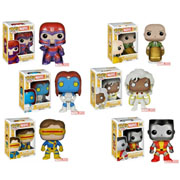 Funko Pop Vinyl Marvel X-men Colossus Storm Cyclops Mystique Magneto Professor X Figure
