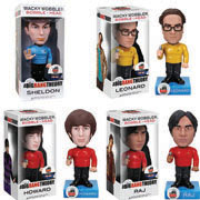 Funko Wacky Wobbler Big Bang Theory Star Trek Bobblehead Sheldon Leonard Howard Raj
