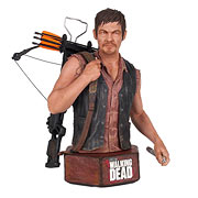 Gentle Giant Walking Dead Daryl Dixon Mini Bust Statue