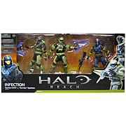 Halo Reach Series 4 Infection 3-Pack Action Figure