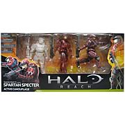 Halo Reach Series 4 Spartan Specter 3-Pack Action Figure