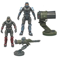 Mcfarlane Halo Reach Warthog Accessory Box Set