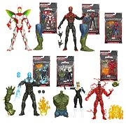 Hasbro Infinite Legends Amazing Spider-man 2 Movie Amazing Spider-man Electro Superior Spider-man Spawn of Symbiotes Carnarge Black Cat Beetle Action Figure