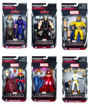 Hasbro Avengers Infinite Legends Wave 1 2015 Hawkeye Thor Sentry Captain Marvel Scarlet Witch Iron Fist Action Figure