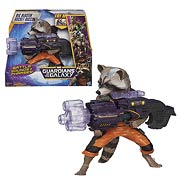 Hasbro Marvel Guardians of the Galaxy Movie Blastin Rocket Raccoon Action Figure