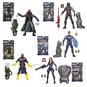 Hasbro Marvel Legends Infinity Captain America 2 Wave 2 Captain America Red Skull Black Widow Winter Soldier Baron Zemo Action Figures