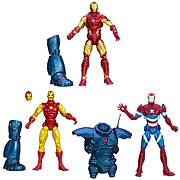 Marvel Legends Iron Man 3 Series 1 Classic Iron Man 3 Heroic Iron Man Iron Patriot Iron Monger Build a Figure Action Figure