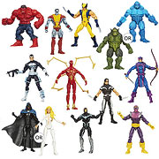 Hasbro Marvel Universe Action Figures Red Hulk Colossus Astonishing Wolverine Abomination Punisher Iron Spider-man X-force Warpath Hawkeye Dagger Iron Man Black Suit Baron Zemo