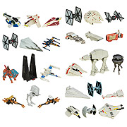 Hasbro Star Wars Micromachines Wave 1 and 2 Vehicles