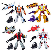 Hasbro Transformers Generations Combiner Wars Deluxe Wave 1 Set Alpha Bravo Firefly Skydive Dragstrip Action Figure