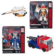 Transformers Generations Combiner Wars Voyager Wave 1 Silverbolt Optimus Prime Action Figure