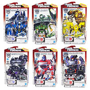 Hasbro Transformers Generations Deluxe Action Figures Thundercracker Hoist Bumblebee Trailcutter Orion Pax Megatron