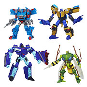 Hasbro Transformers Generations Deluxe Dreadwing Waspinator Skids Goldfire