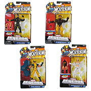 Hasbro Wolverine Legends Previews Exclusive Emma Frost Wolverine Sabretooth Cyclops Action Figures