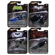 Hotwheels Batman Batmobile Wave 3 1/50 Scale 1980's Batmobile Batpod Batman Forever Batmobile