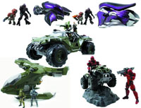 Jada Toys Halo Die Cast Metal Vehicles Ghost Banshee Warthog Hornet Mongoose