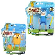 Adventure Time 5 Inch Jake and Finn Action Figures