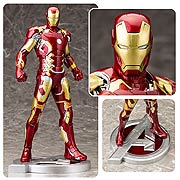 Kotobukiya Artfx Marvel Avengers 2 Movie Age of Ultron Iron Man Mark 43 Statue