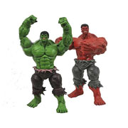 Marvel Select Red Hulk Green Hulk Action Figure