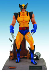 Marvel Select Wolverine Yellow Costume Action Figure