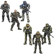 Halo 10th Anniversary 3 Pack Action Figures