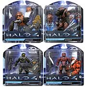 Mcfarlane Halo 4 Action Figure Wave 4 Master Chief Spartan Warrior Elite Zealot Grunt Storm