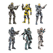 Mcfarlane Toys Halo 5 Guardians Series 1 Action Figure Master Chief Spartan Kelly Spartan Fred Spartan Tanaka Spartan Locke Athlon Spartan