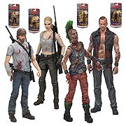 Mcfarlane Walking Dead Comic Series 3 Action Figures Dwight Andrea Rick Grimes Punk Zombie