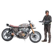 Mcfarlane Toys Walking Dead Deluxe Box Set Daryl Dixon with custom motorcycle version 2 Action Figure