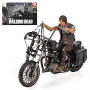 Mcfarlane Toys Walking Dead Daryl Dixon with Motorcycle Deluxe Box Set