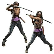 Mcfarlane Toys Walking Dead TV Series 10 Inch Michonne Deluxe Action Figure