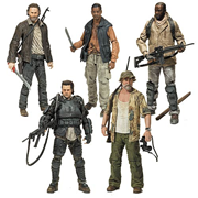 Mcfarlane Toys Walking Dead TV Series 8 Morgan Jones Dale Horvath Bob Stookey Rick Grimes Eugene Porter Action Figure