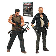 Mcfarlane Toys Walking Dead TV Series Merle and Daryl Dixon 2 Packs Action Figures