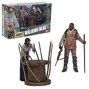 Mcfarlane Toys Walking Dead TV Series Morgan and Impaled Walker Deluxe Action Figure Set
