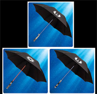 Museum Replicas Star Wars Lightsaber Umbrella Anakin Skywalker Obi-wan Kenobi Darth Vader