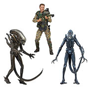 NECA Aliens Series 2 Xenomorph Alien Xenomorph Alien Warrior Sergeant Craig Windrix Action Figure
