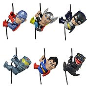 Neca Movie Mini Figures Scalers Series 3 Captain America Thor Batman Pacific Rim Gypsy Danger Superman Godzilla
