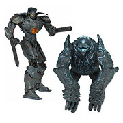 NECA Pacific Rim 2 Pack Box Set Gypsy Danger and Leatherback Action Figures