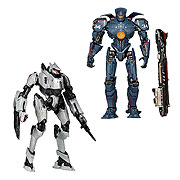Pacific Rim Series 4 Jaeger Gypsy Danger and Tacit Ronin Action Figure