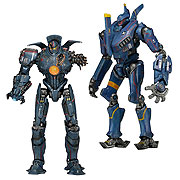 NECA Pacific Rim Series 5 Jaegar Battle Damaged Gypsy Danger Blue Romeo Action Figure