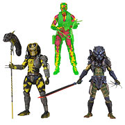 Neca Predator Series 11 Thermal Vision Dutch Wasp Predator Armored Combat Lost Predator Action Figure